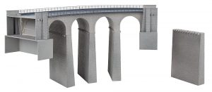 Viadukt-Set, 2-gleisig, gebogen
