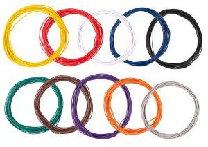 Litzensortiment (10 Farben)