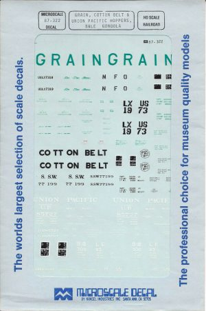 Assorted Cov. Grain Hopper