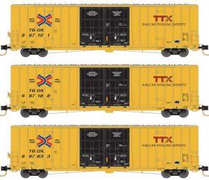 Railbox / TTX, late