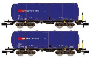 Silowagen-Set 2-tlg. - SBB Cargo