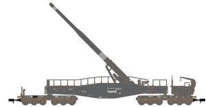 K5 Leopold Eisenbahngeschuetz - feldgrau
