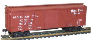 36` Wood Boxcar H0