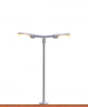 LED-Bahnsteigleuchte 2-fach