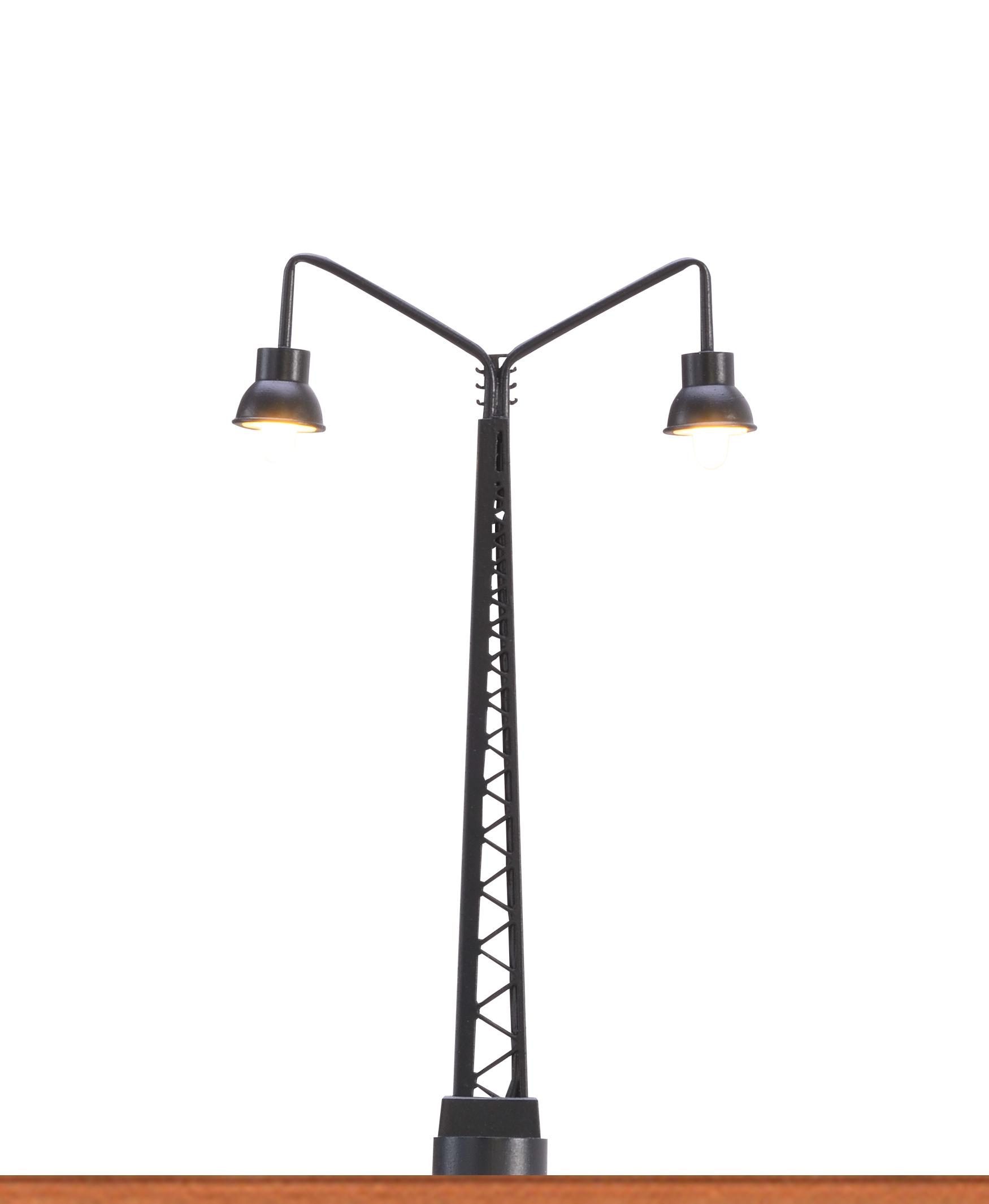 LED-Gittermastleuchte 2-fach