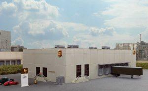 UPS Hub with Customer Center