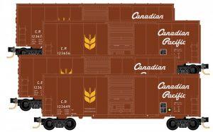 4x 40' Boxcar