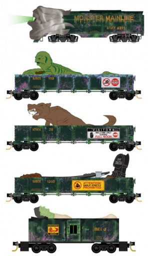 Halloween Train Set 2019