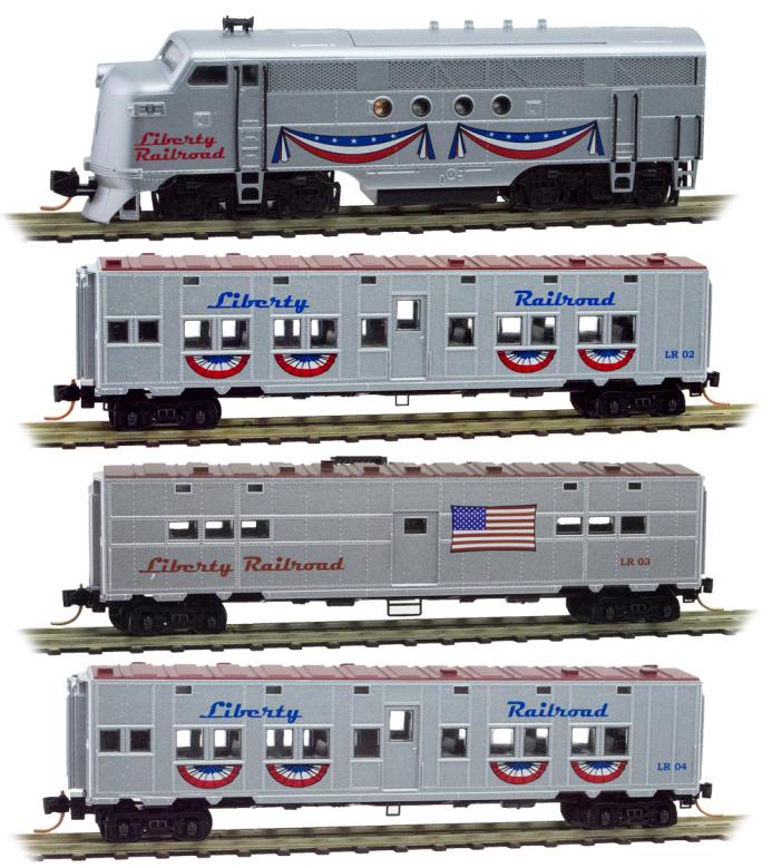 Liberty Railroad Train Set