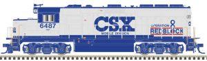 CSX [Red Block]