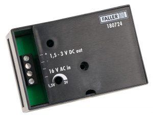 Spannungswandler 16 V AC, 1,5-3V DC