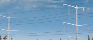 "High-Voltage Power Transmission ""Wire"""