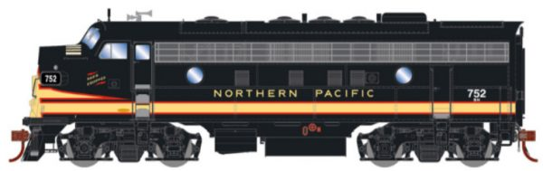 Burlington Northern (exNP)