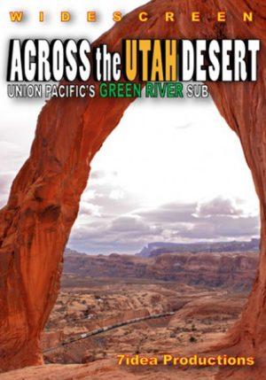 Across the Utah Desert - Union Pacific`s Green River Sub
