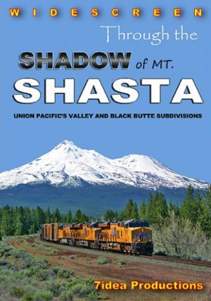 Through the Shadow of Mount Shasta - UP`s Blacke Butte Sub