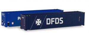 45ft. Container-Set P&O / DFDS
