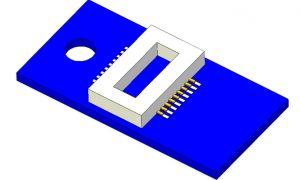 Adapterplatine Next18 fuer 6 Ausgaenge