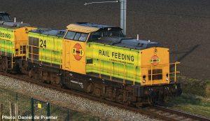 RRF Rotterdam Rail Feeding
