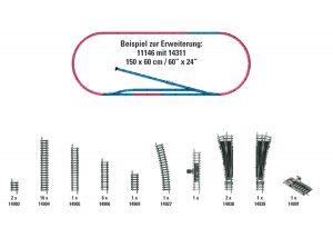 Gleis-Ergaenzungs-Set H1