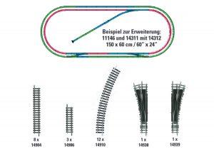 Gleis-Ergaenzungs-Set H2
