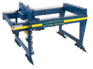 """Containerbruecke """"GVZ Hafen Nuernberg"""""""