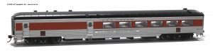 Stainless Steel Dining Car H0