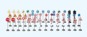 Verkehrszeichen Frankreich (Bausatz)