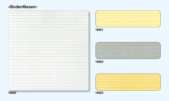 Bodenfliesen quadratisch Grau