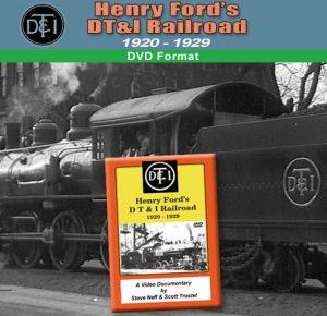 Henry Ford`s Detroit Toledo & Ironton Railrad (1920 - 1929)