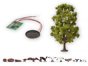 Baum mit Vogelzwitschern