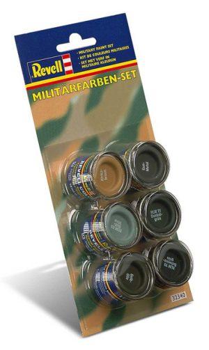 Farben-Set Militaer