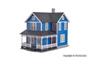 Schwedenhaus, blau