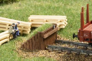 Prellbock Holz