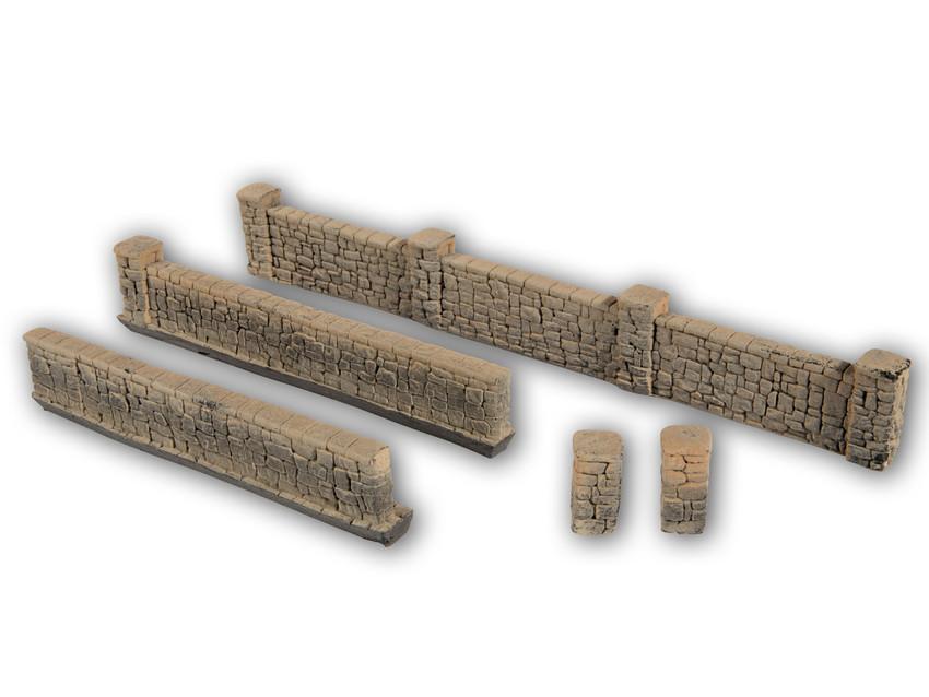 Mauern aus Sandstein