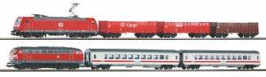 DB AG, BR 185 & BR 218 Gueter- u. Personenzug