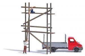 "Action-Set ""Geruestaufbau mit Iveco Transporter"""