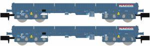 Niederbordwagen-Set 2-tlg. - NACCO