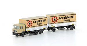 MAN F90 Kofferzug - Gerolsteiner