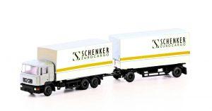 MAN F90 Pritschenzug - Schenker Cargo