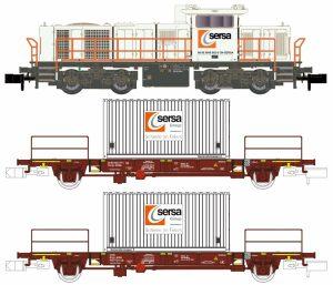 Zugset G1000BB, 2 Generatorenwagen - SERSA