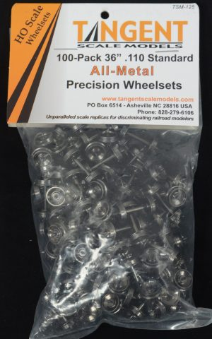 Wheelset H0 (100 pack)