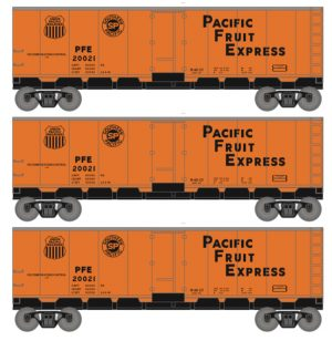 Pacific Fruit Express / PFE, late