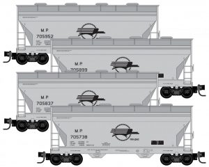 4x ACF 2-Bay Hopper