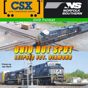 CSX NS Ohio Hot Spot - Leipsic Jct. Diamond