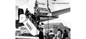 Qantas Historic Passenger Stairs