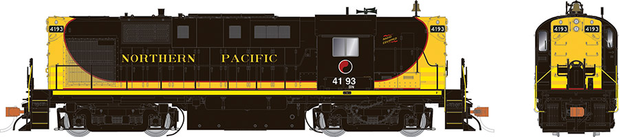 Northern Pacific / BN patch