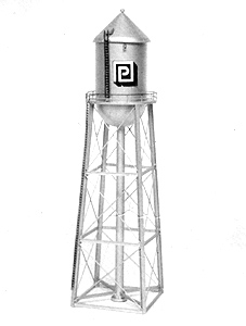 Water Tower Cone Shape