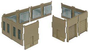 Walls with Vehicle Doors