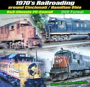 1970`s Railroading around Cincinnati & Hamilton, OH