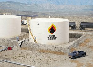 Wide Oil Storage Tank